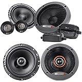 Pair MB QUART FSB216 6.5 280 Watt Component Speakers+(2) 6.5 Coaxial Speakers