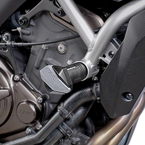 Roulettes de protection Puig R12 Yamaha MT-07 Tracer 16-18 noir