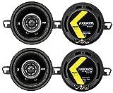 4) Kicker 43DSC3504 3-1/2'' 3.5'' 160 Watt 2-Way Car Audio Speakers DSC35 DS35
