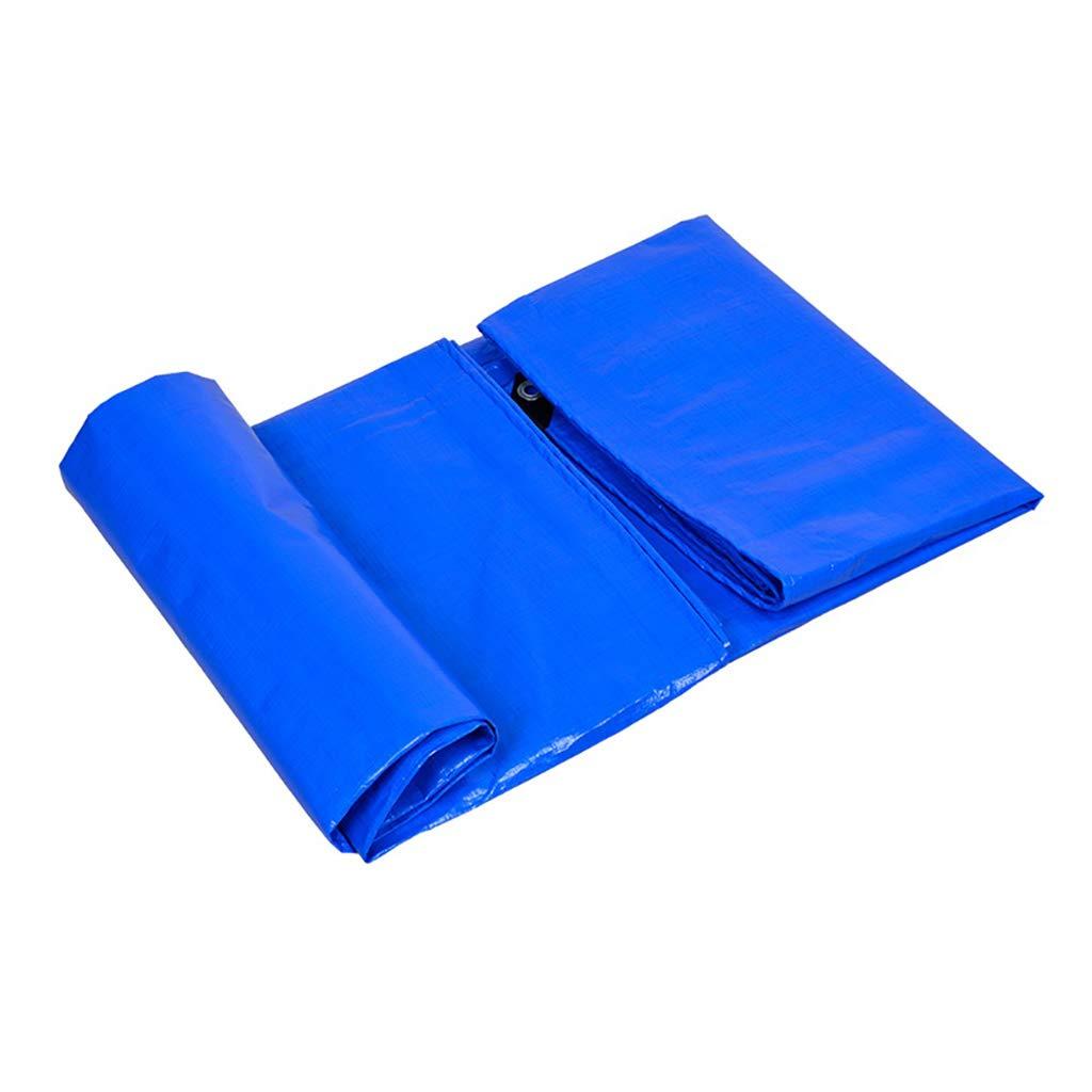 Zeltplanen Verdicken Regen Sie Die Plane, Die Den Regen Verdicken Wasserdicht Bedeckt Sonnenschutzkunststoff Regenschutztuch Farbstreifen Überdachungslastwagen 3  3M - Multi-Größe-Optionen (größe   5M×6M) d6ae7e