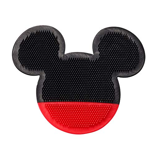 The First Years Disney Baby Mickey Mouse Silicone Bath Scrubby, Black Red
