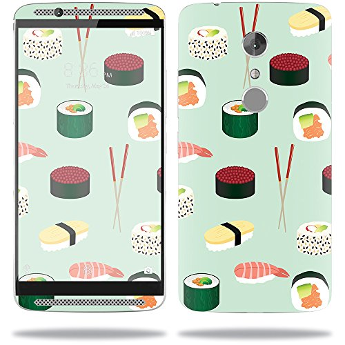 Price comparison product image Skin For ZTE Axon 7 – Sushi | MightySkins Protective, Durable, and Unique Vinyl Decal wrap cover | Easy To Apply, Remove, and Change Styles | Made in the USA