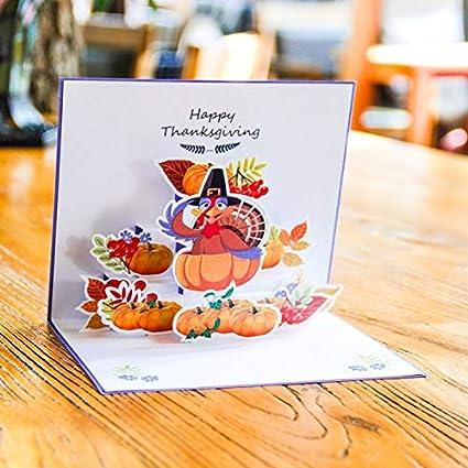 Creative 3d Halloween Carte Carte De Noel Dessin Anime Enfant Turquie Enveloppe De Carte D Anniversaire Citrouille Carte De Voeux Carte De Voeux Retraite Carte De Voeux Enregistrable Amazon Fr Fournitures De Bureau