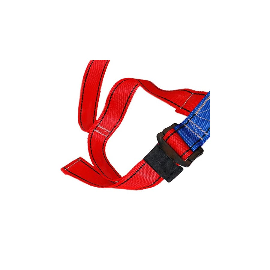 Kids' Full Body Harness, Youth Safety Comfort Zipline Climbing Harness Belts for Outdoor Expanding Training, Caving Rock Rappelling Equip