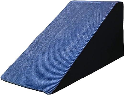 Escaleras de mascotas- Fáciles De Color Gris Azulado/Rampa para Mascotas Perro Mediano Gato A Sofá, Funda Lavable (Size : L-High 50cm): Amazon.es: Hogar