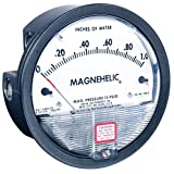 "Dwyer Magnehelic Series 2000 Differential Pressure Gauge, Range 0.25-0-0.25""WC"