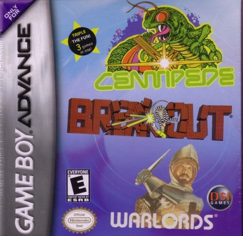 Centipede / Breakout / Warlords