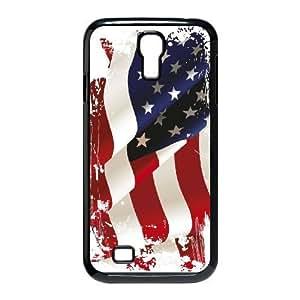 VNCASE American Retro Flag Phone Case For Samsung Galaxy S4 i9500 [Pattern-1]
