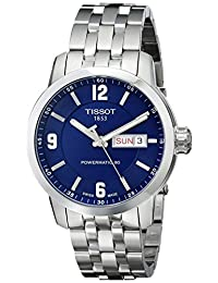 Tissot Men's T0554301104700 PRC 200 Analog Display Swiss Automatic Silver Watch
