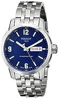 Tissot Men's T0554301104700 PRC 200 Analog Display Swiss Automatic Silver-Tone Watch