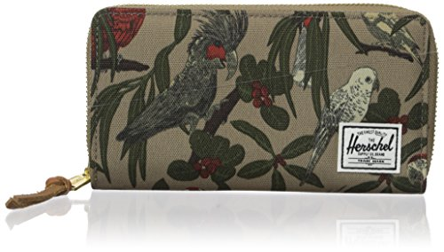 - Herschel Supply Co. Men's Thomas RFID Wallet, Brindle Parlour, One Size