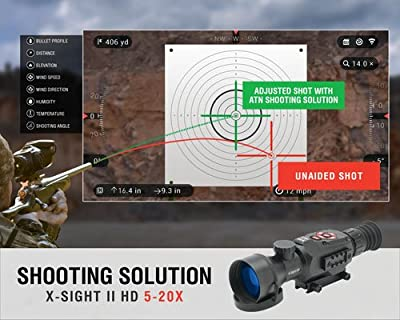 ATN X-Sight II shooting solution
