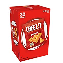 Cheez-It Baked Snack Cheese Crackers, Or...