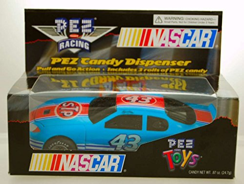 2005 - PEZ Toys - PEZ Candy Racing - NASCAR - Richard Petty #43 - STP Pontiac - Pull & Go Action - Includes 3 Rolls of PEZ - Limited Edition - Colelctible