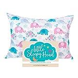 Toddler Pillowcase - Made for Little Sleepy Head Toddler Pillow 13 X 18