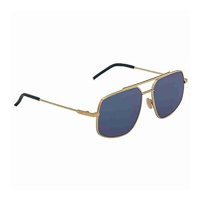 Fendi FF M0007/S KU 000, Montures de Lunettes Homme, Or (Rose Gold/Blue), 58