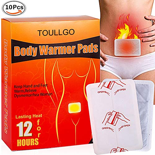 Body Heating Pad, Winter Body Warmer Stick, Menstrual Cramp Relief Heat Wraps, Body Warmer Pad, Air-Activated Disposable Menstrual Heat Patches for Sore Upper Back, Neck & Shoulder Pain Relief & Menst