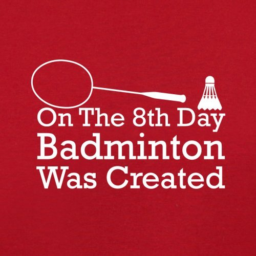 Red 8th Flight Day Bag Badminton Dressdown On Retro Created Was The vCZE1q