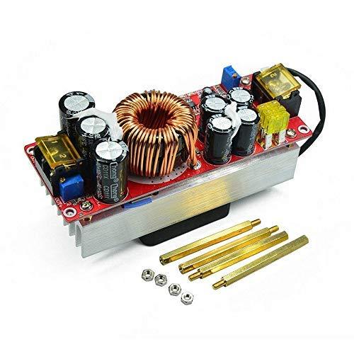 Boost-Wandler-Step-Up-Ladeger/ät-Leistungsmodul,1800W 40A einstellbares Netzteilmodul,DC-CC-Constantspannung Konstantstrom-Boost-Leistungsmodul