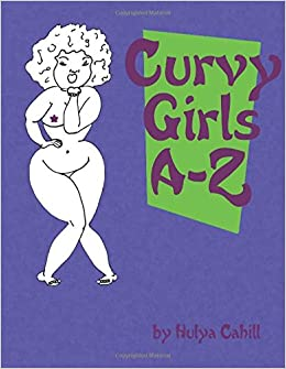 Book Curvy Girls A-Z: A coloring book to promote loving yourself and your curves