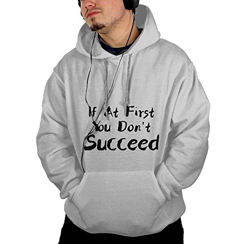 Supplement Succeed Digestive (CGYIO If At First You Don't succeed Print Sports Hoodies colorful Drawstring)