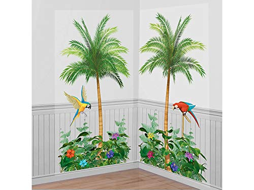 Amscan Palm Tree Party Scene Setters, 65