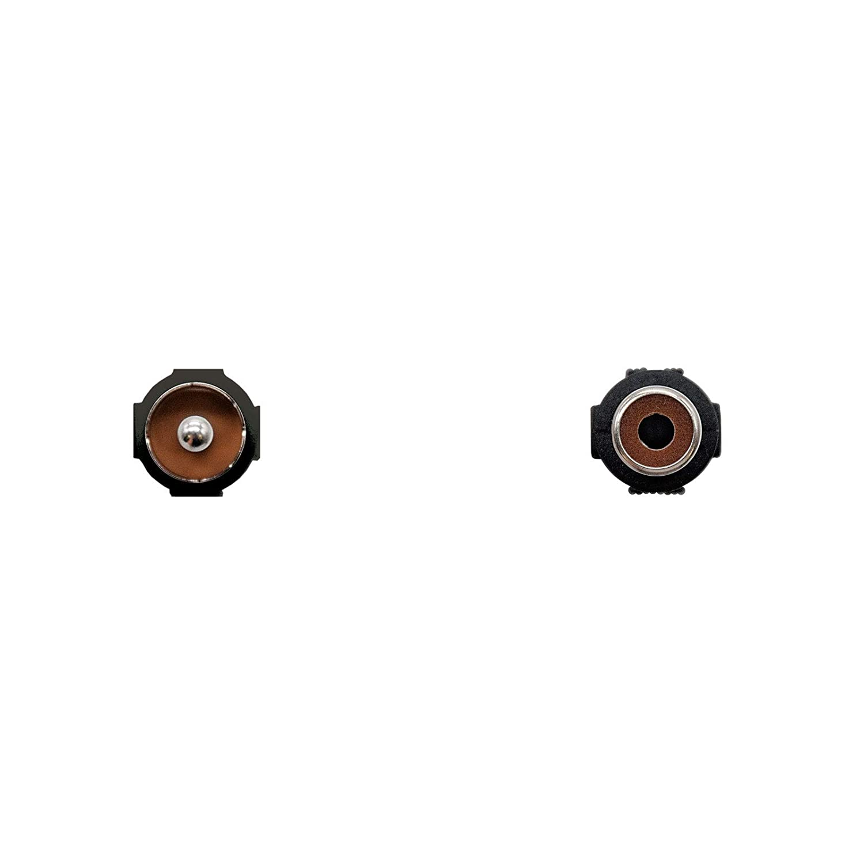 Cable extension de audio RCA NanoCable 10.24.0503 macho-hembra RCA//M-RCA//H 3mts negro
