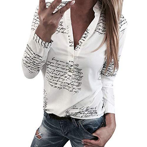 huge discount d38b6 3ecdf Darringls Camicia Donna Estiva Blouse Eleganti Maglietta ...