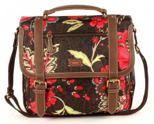 Oilily Paisley Flower M Shoulderbag - Brown