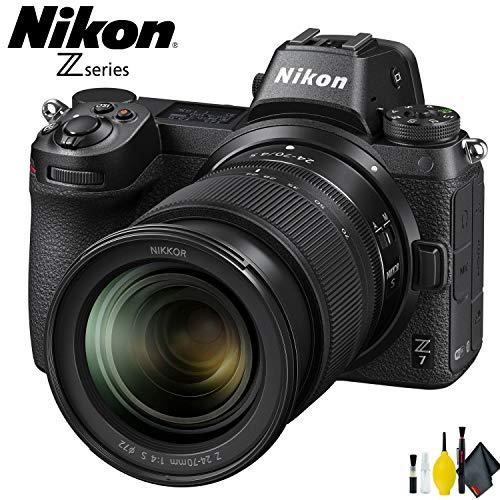 Nikon Z7 Mirrorless Digital Camera with 24-70mm Lens Interna
