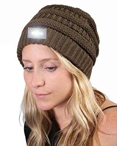 H-6007-33 Day/Night Beanie - New Olive