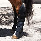ECP Equine Comfort Products Far Infrared Heat Therapy Horse Rear Leg Wraps - Medium