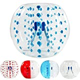 AmazingsportsTM Inflatable Bubble Soccer Ball Dia 5' (1.5m) Human Inflatable Bumper Bubble Balls Suits Bubble Game (1.2m 1.7m aviliable) (Blue)