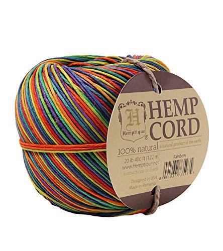 Hemptique Hemp Ball, Rainbow
