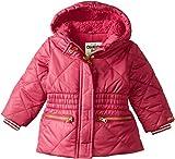 Osh Kosh Baby Girls' Heavyweight Cinched Waist Jacket, Raspberry, 18 Months