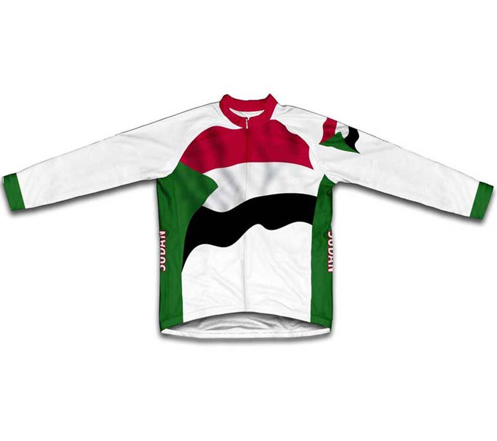 Amazon.com   ScudoPro Sudan Flag Long Sleeve Cycling Jersey for Women    Sports   Outdoors 54a0be3a7