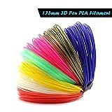 3D Pen Filament Refills 1.75mm PLA 3D Printing Drawing Pen and Printer, No odor and Fumes