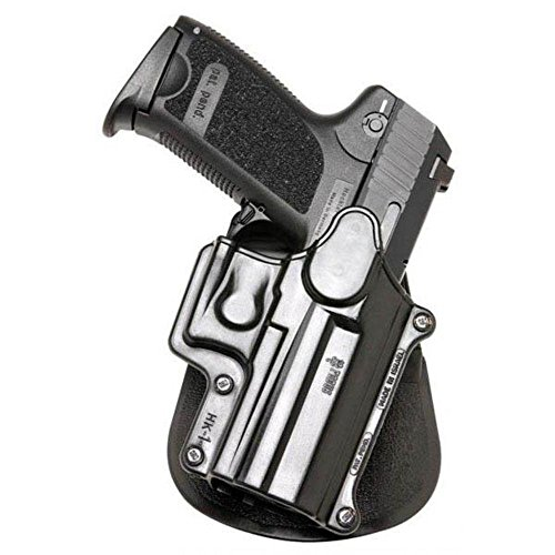 Hk Usp Compact Holster - Fobus Paddle Holster Fits H&K Compact/USP 9mm/40/45/Sigma Series/FN49/Ruger SR9, Right Hand, Black