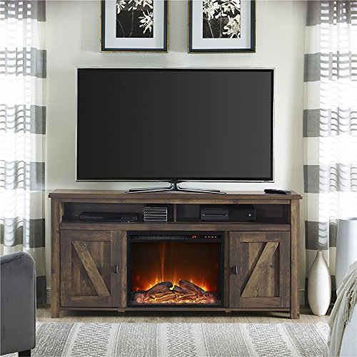 Ameriwood Home Farmington Electric Fireplace Tv Console
