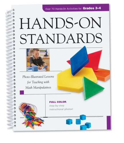 Learning Resources Hands-On Standards: Photo-Illustrated Lessons for Teaching with Math Manipulatives, Grades 3-4 by Learning Resources