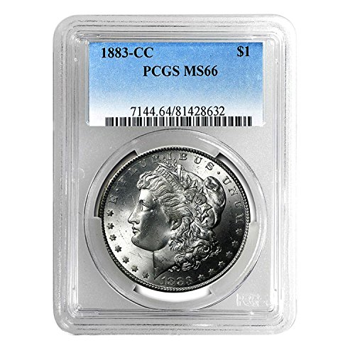 1883 CC Morgan Dollar $1 MS-66 PCGS