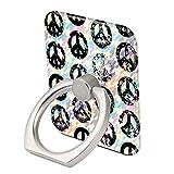 KASOS Square Peace Sign Case for Rectangle Cover Slim Soft Flexible TPU Shockproof Back Shell (Rectangle, Black)