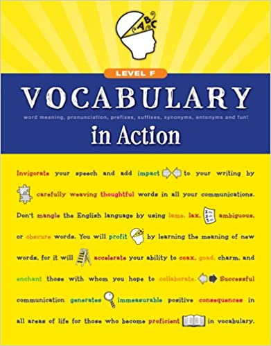Amazon.com: Vocabulary in Action Level F: Word Meaning ...