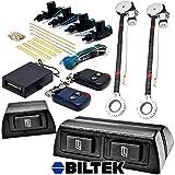 2x Door Car Power Window + Keyless Door Unlock Kit For GMC Savana Sierra
