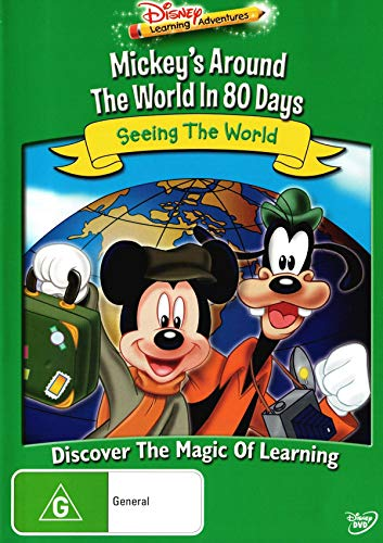 Mickey's Around the World in 80 Days Seeing the World | NON-USA Format | PAL | Region 4 Import - Australia (Mickey Around The World In 80 Days)
