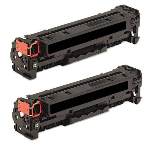 HI-VISION HI-YIELDS Compatible Toner Cartridge Replacement for Canon 131 (2 Black, 2-Pack)
