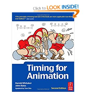 Timing for Animation Harold Whitaker, John Halas Obe, Tom Sito