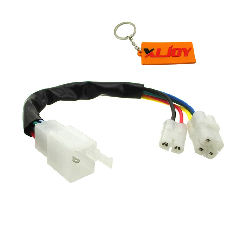 XLJOY CDI Cable Wire Adapter Connector Plug Scooter Moped Pit Dirt Bike ATV Quad