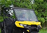 Can-Am Defender Scratch Resistant Vented Full Windshield