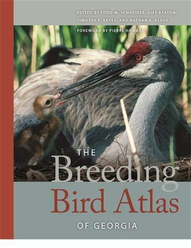 Books : The Breeding Bird Atlas of Georgia